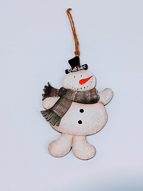Décoration bonhomme de neige