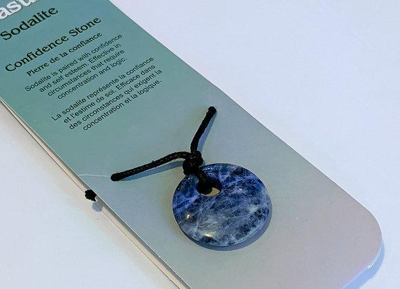 Collier circulaire Sodalite