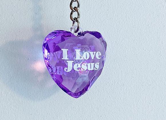 Porte clé I love Jesus