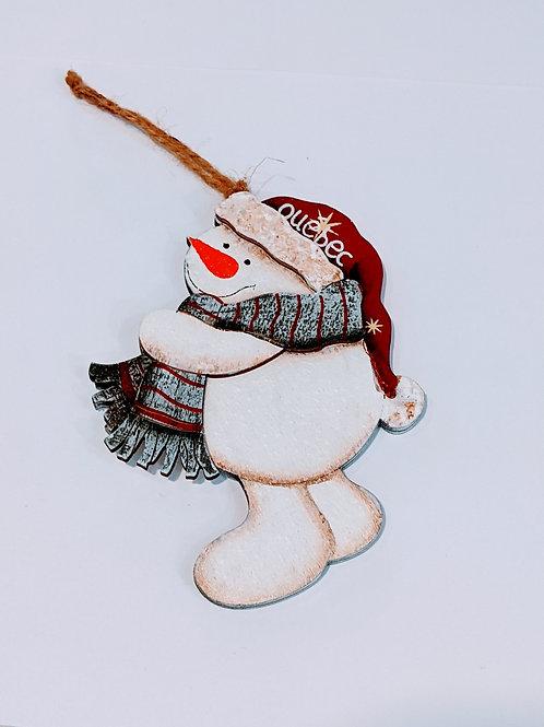 Décoration bonhomme de neige Noël