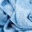 Thumbnail: Foulard Galaxie bleu
