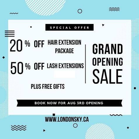 Opening Offers!