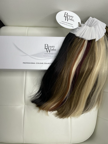 Beauty Works color selection