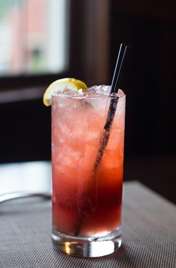Strawberry basil lemonade 2
