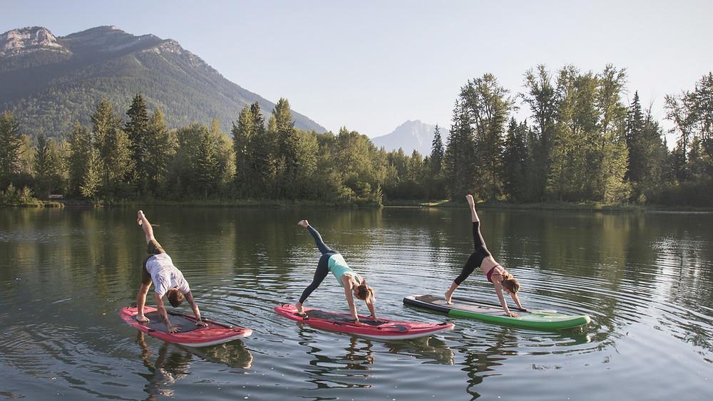 Yoga Paddle Aix les bains