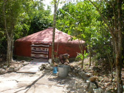 Temazcal (Sweat Lodge), Cozumel
