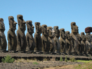 Telltale moais of Easter Island tell no definitive tales