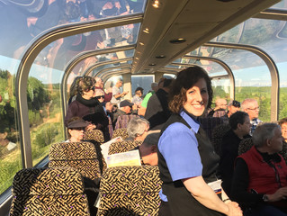 McKinley Explorer Train Delights Holland America Line Guests
