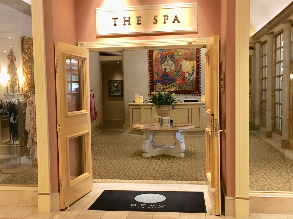 Beau Rivage Spa, Biloxi, MS