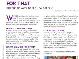 New Orleans: They've Got a Tour for That