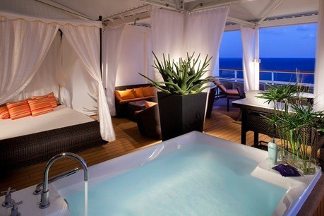 Lavish describes Spa Villa on Seabourn Quest