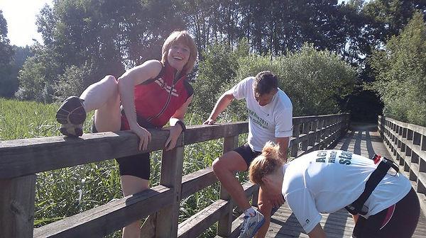 Trainingslauf mit Hindernissen Sommer 20