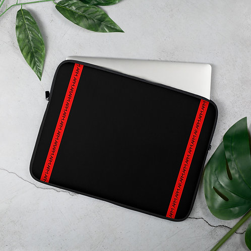 """AFM 13"""" and 15"""" Stylish Laptop Sleeve Faux Fur Interior!"""