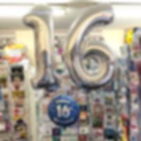 Age 16 Helium Balloon Bunde