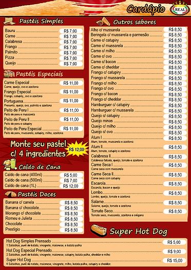 Real Pizzas e Lanches - Pizzaria em São Caetano do Sul