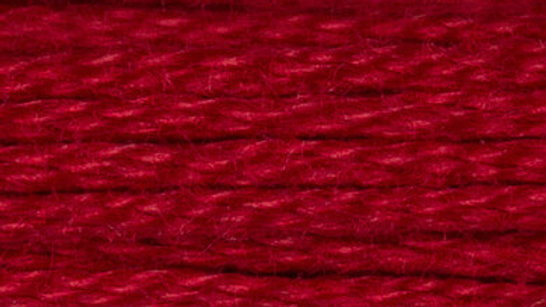 DMC Six Stranded Cotton Floss/Thread Skein (Mouline Special) - Medium Red 347