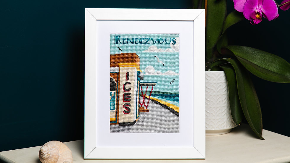 A Seaside Rendezvous Cross Stitch Kit