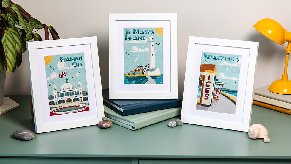 Whitley Bay Collection Cross Stitch Kit