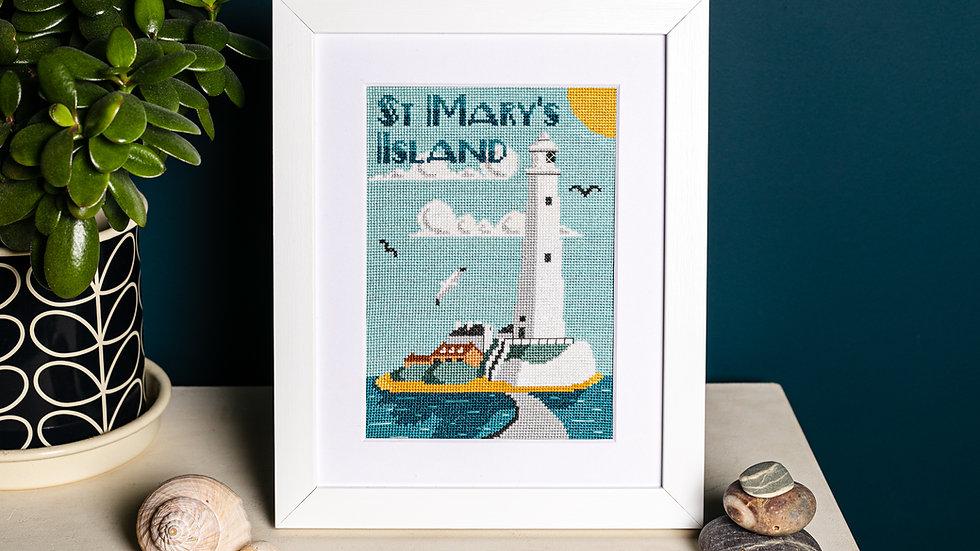 Sunny St Mary's Cross Stitch Kit