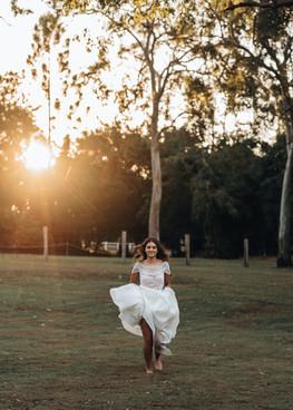 A bit of bridal fun