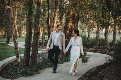 Newly Wed Walks