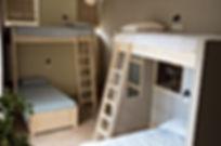 chambre avec 6 couchages