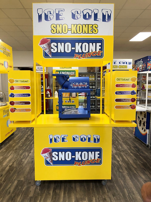 Sno Kone Flavor Dispenser