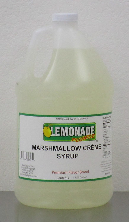 Marshmallow Creme Syrup