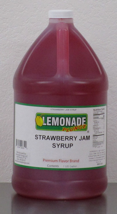 Strawberry Jam Syrup