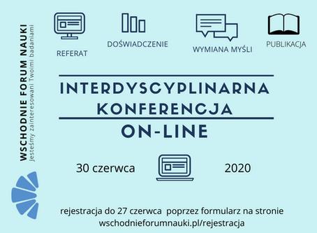 Konferencja on-line / 30 czerwca 2020