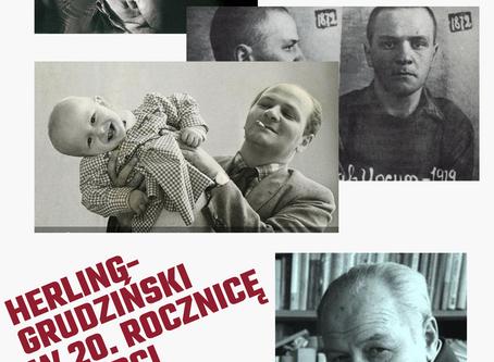 Konferencja w 20. rocznicę śmierci Gustawa Herlinga-Grudzińskiego!