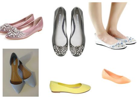 Buty ślubne czyli baleriny?