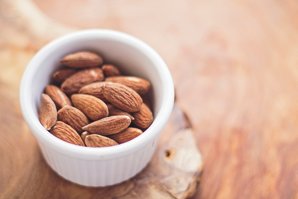 almonds, nuts and seeds