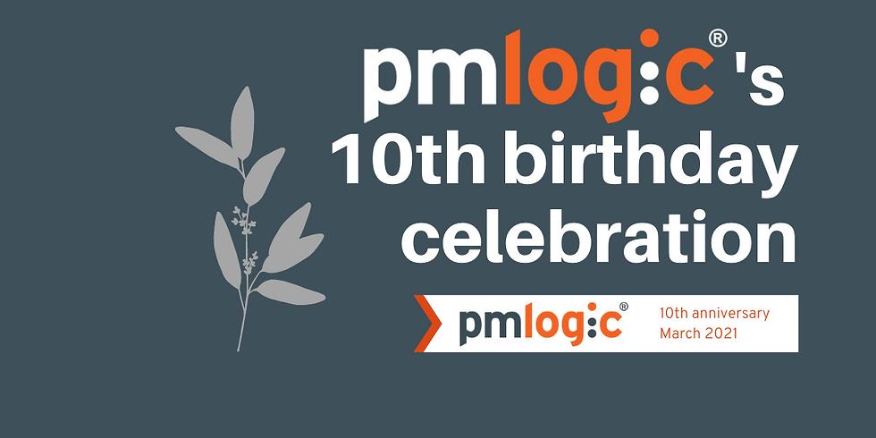 PMLogic's 10th Birthday Celebration!