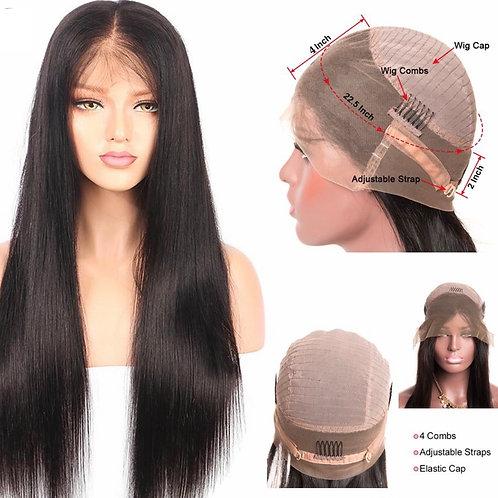 High Quality Virgin 360 Wigs 130% Density