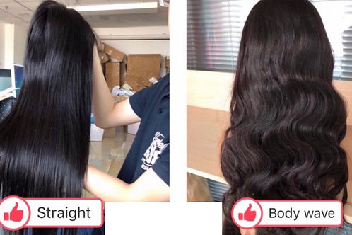 High Quality Virgin Full Lace Wig 150% Density
