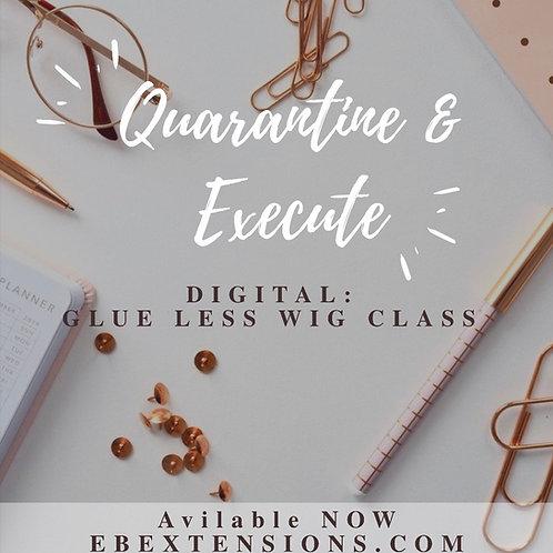Digital: Glue less wig class