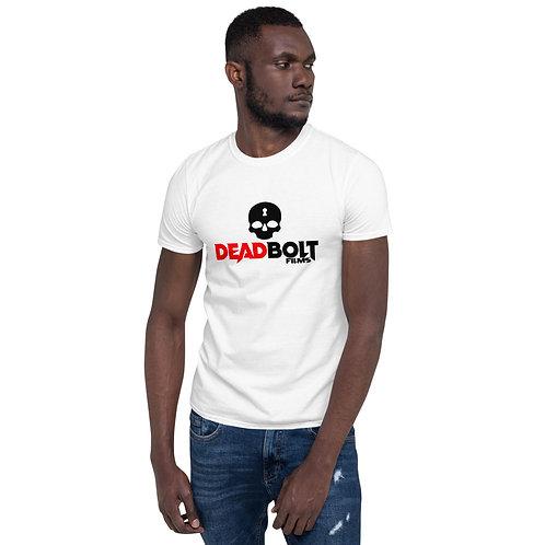 Deadbolt Films White Short-Sleeve Unisex T-Shirt copy