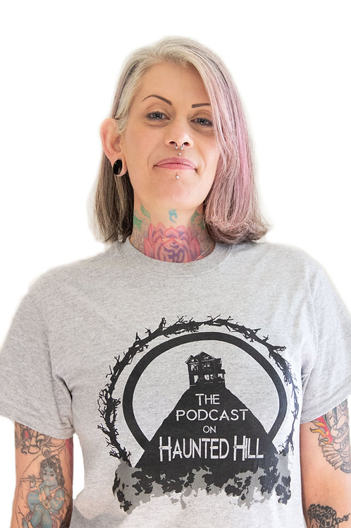 Podcast on Haunted Hill T-Shirt
