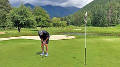 Kokanee Springs golfer