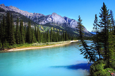 Bow River, Banff Park