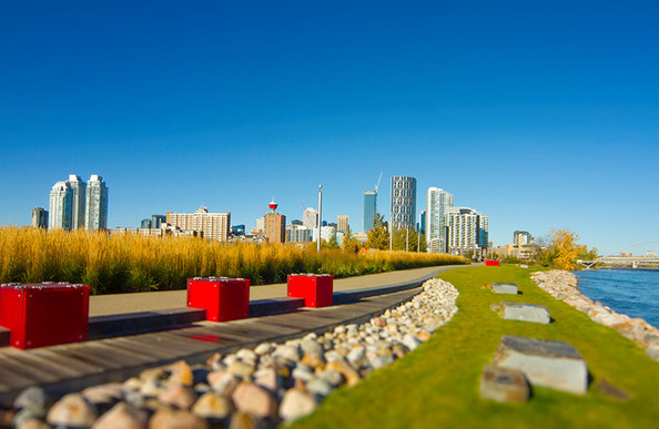 Calgary river walk