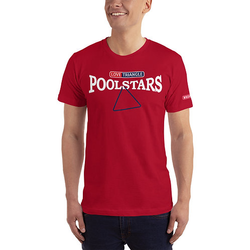 "Official POOLSTARS ""LOVE TRIANGLE"" T-Shirt"