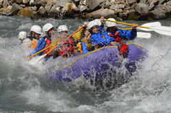 whitewater float rafting trips