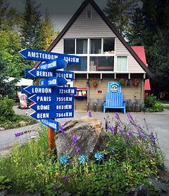 Revelstoke Campground entrance