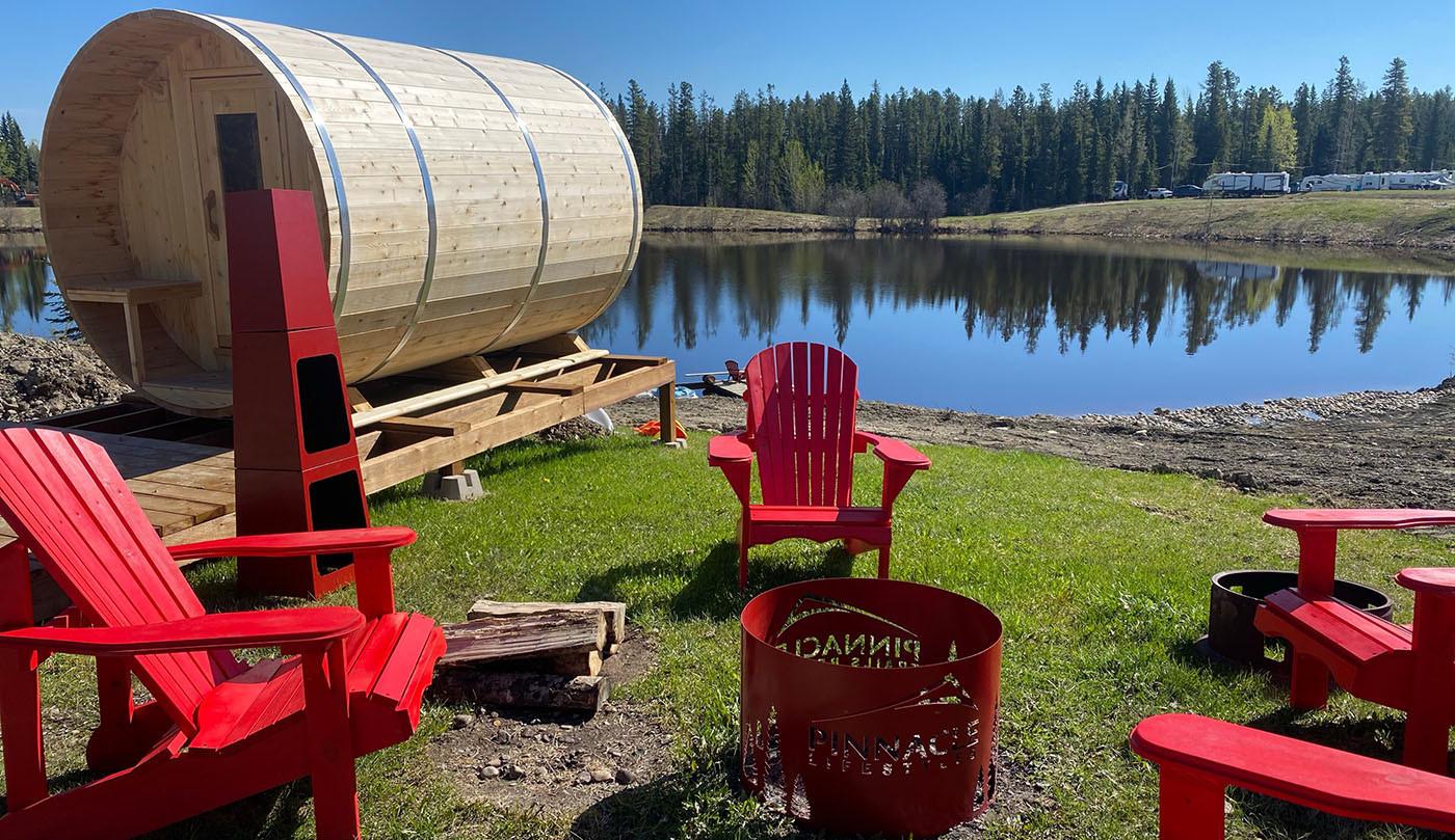 Campfire & Sauna