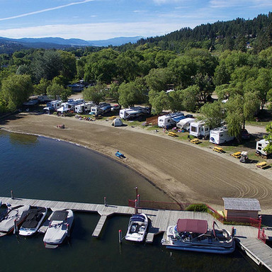 Wood Lake RV Park, BC