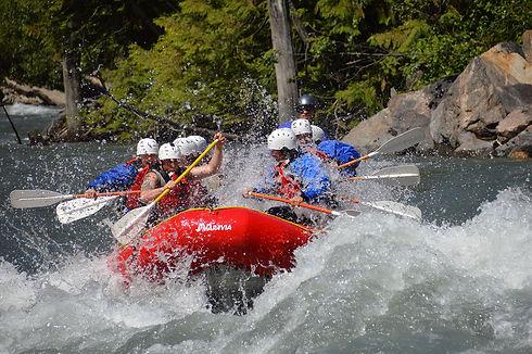 whitewater rafting trip