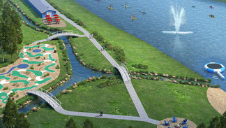 Miniature Golf And The Lakeside Lounge