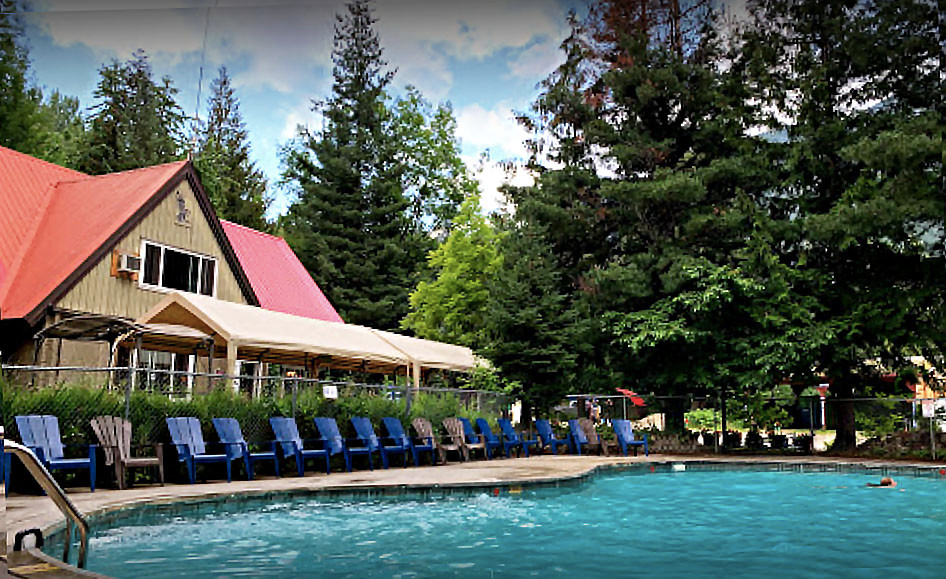 Revelstoke Campground pool